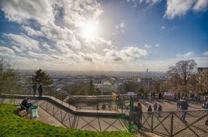 Paris main view from Sacré coeur